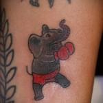 Значение татуировки слон 2