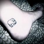 Значение татуировки слон 3