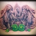 Значение татуировки слон 5