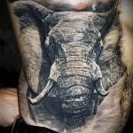 Значение татуировки слон 7