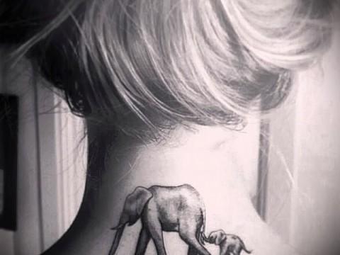 Значение татуировки слон 8