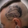 Значение татуировки собака 5