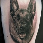 Значение татуировки собака 8