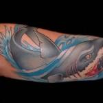 Значение тату акула 1