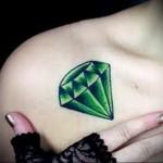 Значение тату алмаз (бриллиант) 1