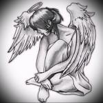 Значение тату ангел 1