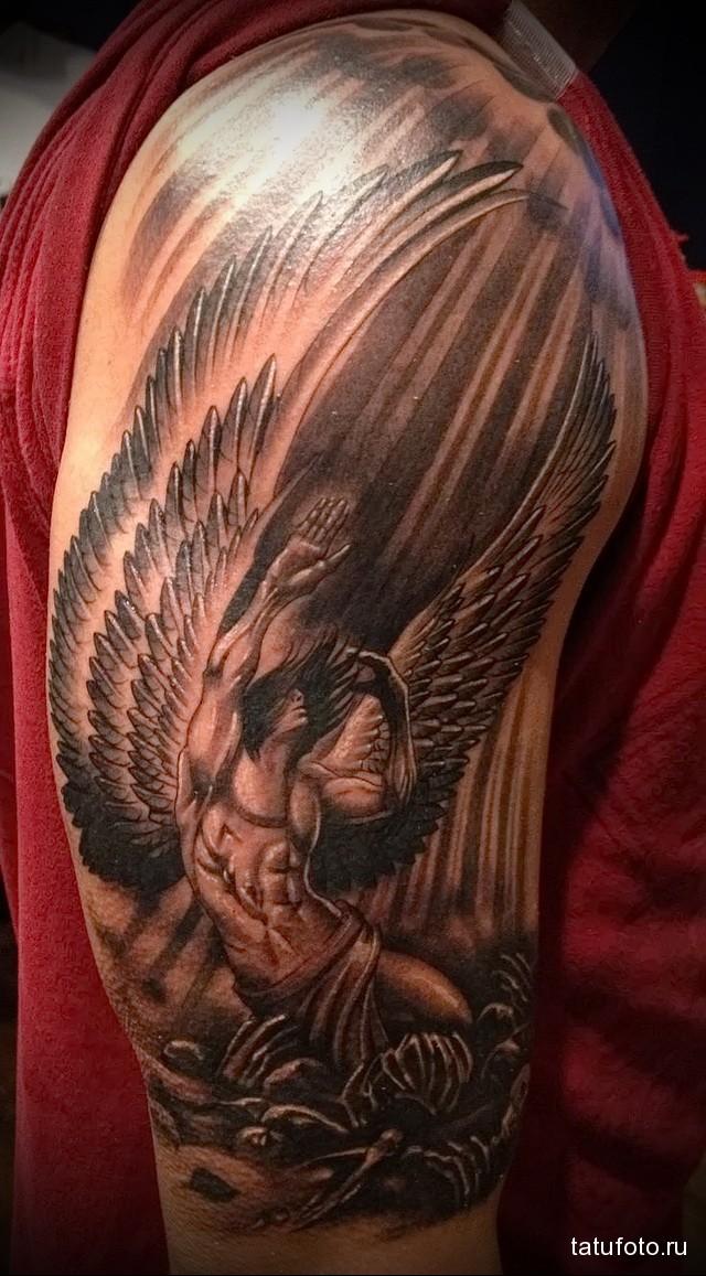 Значение тату ангел 13