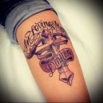 Значение тату крест 6