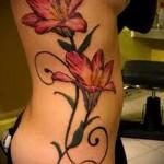 значение и смысл татуировок с цветами