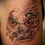 значение и смысл филина в татуировке