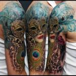 татуировки маска 3