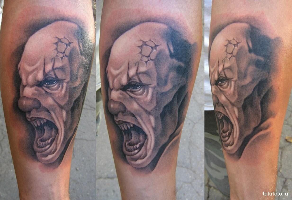 Значение татуировки клоун 3