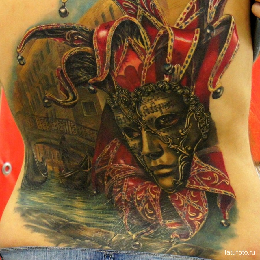 Значение татуировки клоун 5