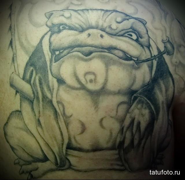 Значение татуировки лягушка 3