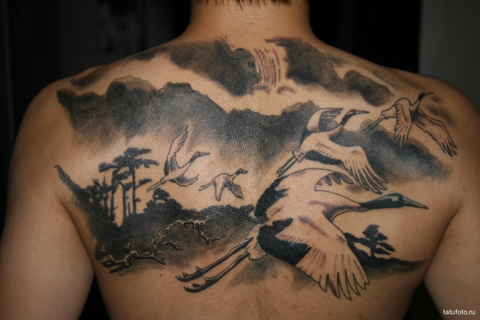 Значение тату аист 5