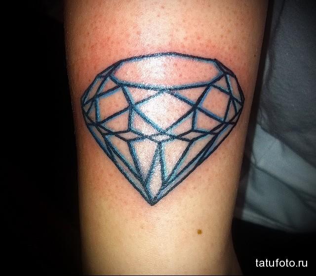 Значение тату алмаз (бриллиант) 6