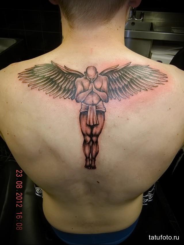 Значение тату ангел 3
