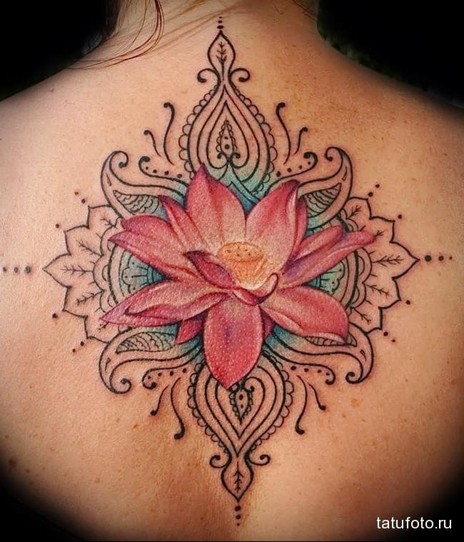 Что значит татуировка цветок