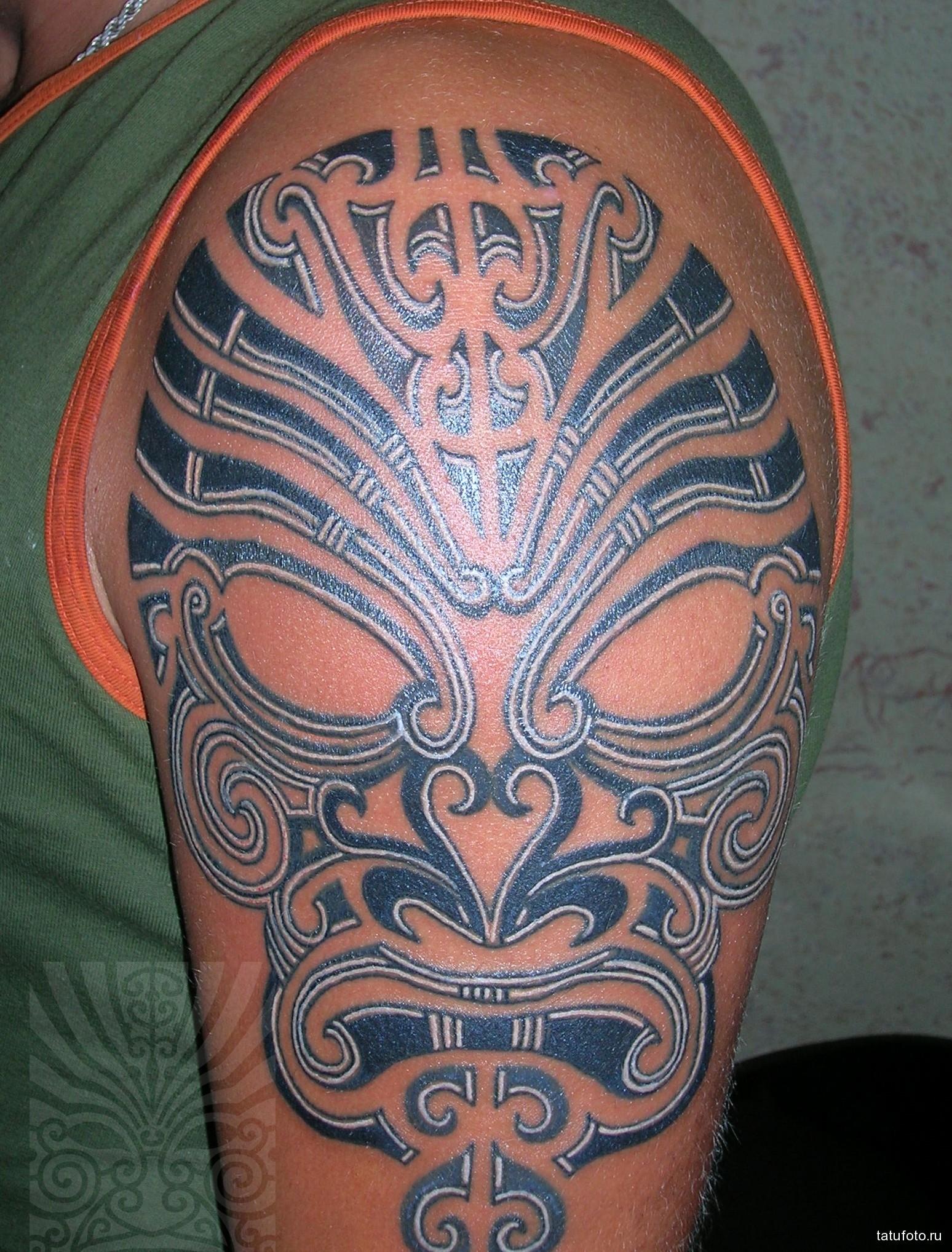 Что значит тату маска