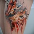 что значит татуировка с жирафом