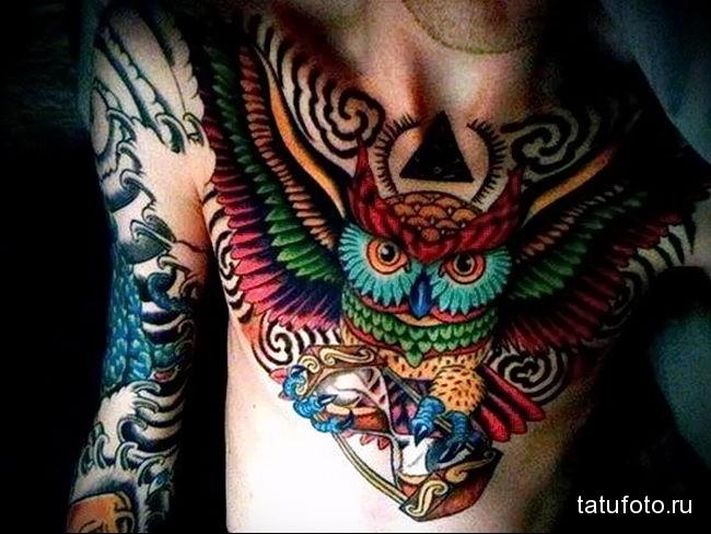 что значит филин в татуировке - вариант