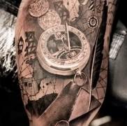 Значение татуировки часы 1