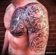 Значение татуировки часы 6