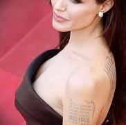 Значение татуировок Анджелины Джоли 47567567567