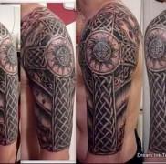 Значение тату кельтский крест к674