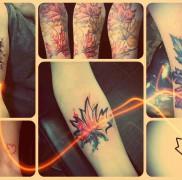 Значение тату кленовый лист – готовые примеры на фото