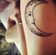Значение тату луна 4