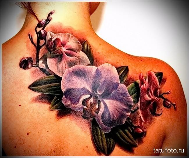 Значение тату орхидея 1