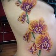 Значение тату орхидея 29