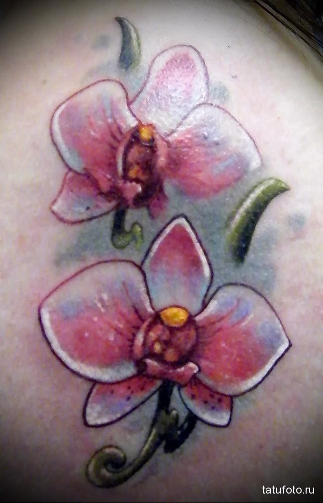 Значение тату орхидея 5