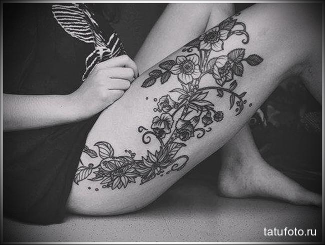 Значение тату орхидея 9