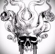 Значение тату осьминог 8