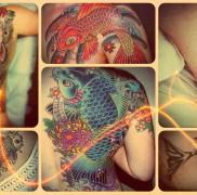 Значение тату рыба – готовый пример на фото