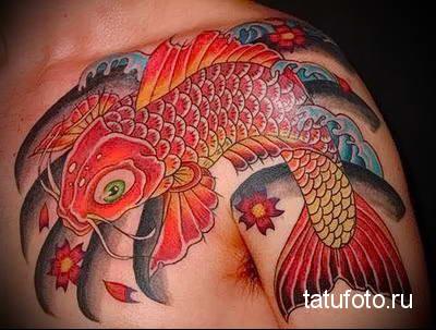 Значение тату рыба 4423345