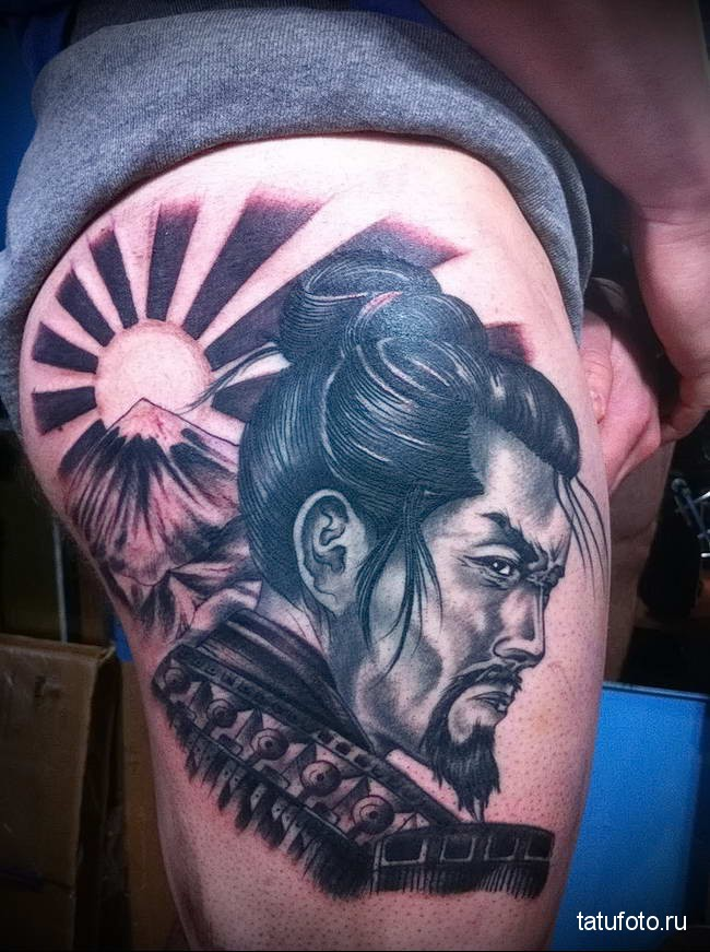 Значение тату самурай 123123