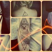 Значение тату треугольник – примеры и фото