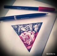 Значение тату треугольник 1