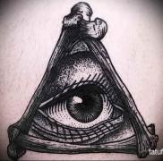 Значение тату треугольник 5