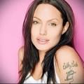 Татуировки Анджелины Джоли фото 3635241234