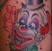 Тату клоун фото 4442234423