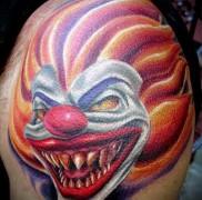 Тату клоун фото 5645645646