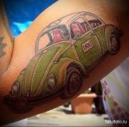 готовая татуировка с рисунком такси 5
