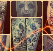 маски тату фото от лучших мастеров
