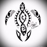 тату «Полинезия» 1
