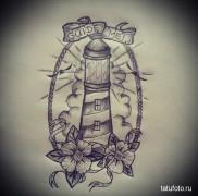 что значит татуировка маяк – эскиз