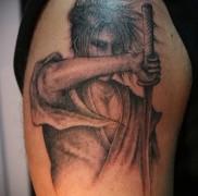 что значит татуировка с самураем фото